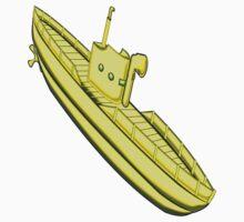 A Yellow Submarine design Kids Tee