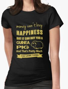 Guinea Pig Lovers Womens Fitted T-Shirt