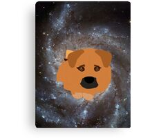 Odie Galaxy Canvas Print