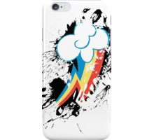 Rainbow Dash Cutie Mark Splat iPhone Case/Skin