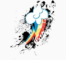 Rainbow Dash Cutie Mark Splat Unisex T-Shirt