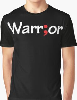 Semicolon; Warrior Graphic T-Shirt