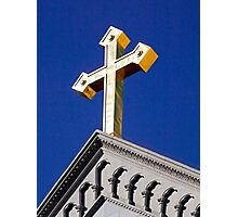 Lift High the Cross Photographic Print