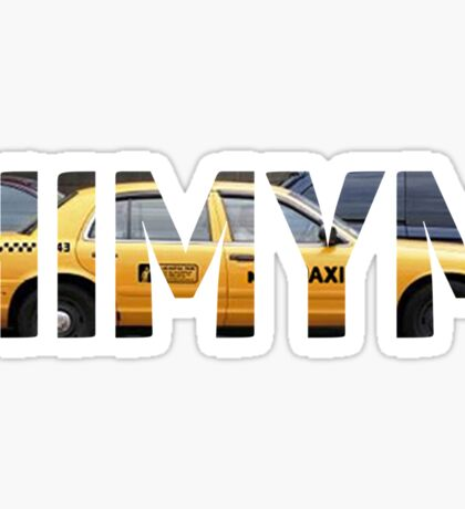 HIMYM - Taxi Sticker