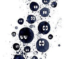 Splatter Soot Sprite by missmann