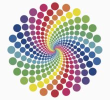 Circular Spectrum Pattern by Jenny Zhang
