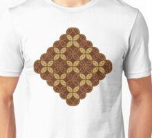 Javanese Batik Kawung Marquise Diamond Chain Unisex T-Shirt