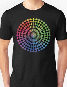 Geometric Design - Color Spectrum Difference T-Shirt