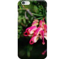 Pink and Lemon Grevillea iPhone Case/Skin