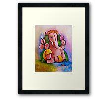 Colorful Ganesh Framed Print