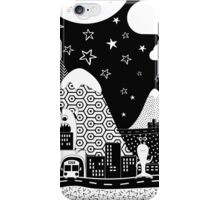Hello from Monster Mountain iPhone Case/Skin