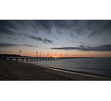 A Classic Frankston Sunset  Photographic Print