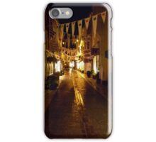 nightime in Foss Street iPhone Case/Skin