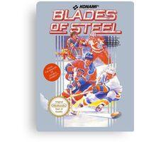 Blades of Steel Canvas Print