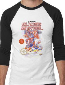 Blades of Steel Men's Baseball ¾ T-Shirt