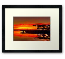 """Sunrise At The Carousel"" Framed Print"