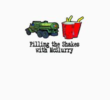 Filling the shakes with McSlurry by #fftw Unisex T-Shirt