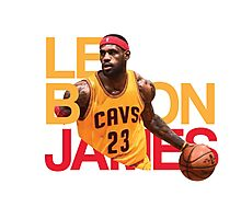LeBron James Cleveland Cavaliers Photographic Print