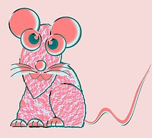 A Pink Mouse by Dennis Melling