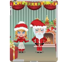 Santa and Mrs Claus in the House iPad Case/Skin