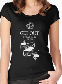 I Need To Go To My Mind Palace BBC Sherlock Women's Fitted Scoop T-Shirt