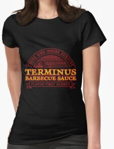 Terminus Sauge The Walking Dead  Womens Fitted T-Shirt