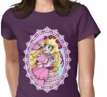 Lolita Princess Peach Womens Fitted T-Shirt