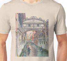 Ponte dei Sospiri / ため息橋 Unisex T-Shirt