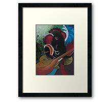 Veena Ganesha Framed Print