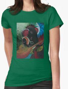 Veena Ganesha Womens Fitted T-Shirt
