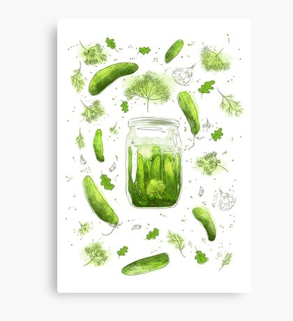 Pickles! Canvas Print