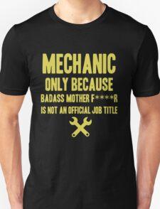 Mechanic Shirt Unisex T-Shirt