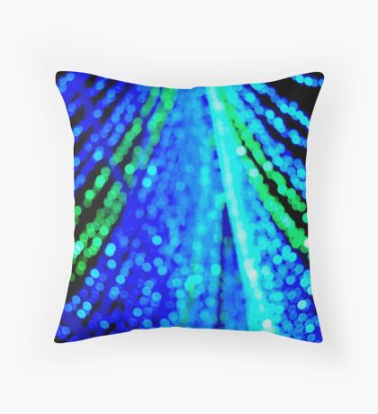 light's garland Throw Pillow