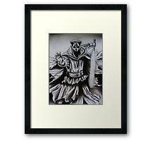 Darth Nihilus Framed Print