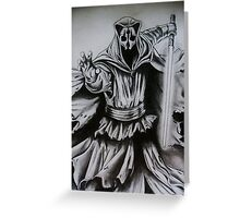 Darth Nihilus Greeting Card