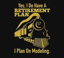 Retirement Plan On Modeling T-Shirt