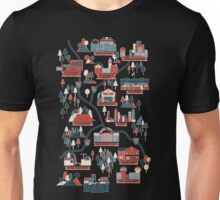 Walking Map The Walking Dead Unisex T-Shirt