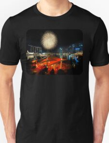 Fireworks By The Bay (T/Chest) T-Shirt