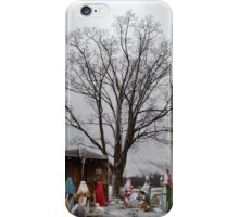 Christmas in Wisconsin Rapids iPhone Case/Skin