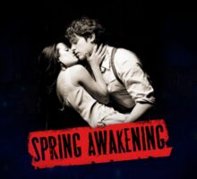 Original Spring Awakening Poster Sticker