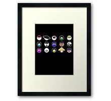 Choose Your Fighter  Framed Print