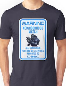 Mass Effect - Neighbourhood Watch Unisex T-Shirt