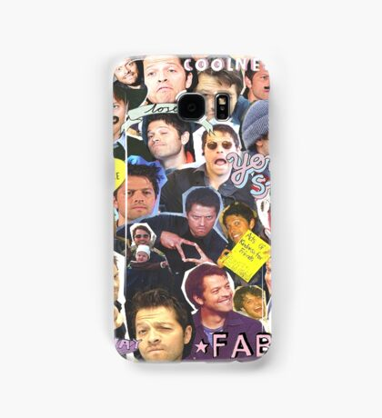 Misha Collins Collage Samsung Galaxy Case/Skin