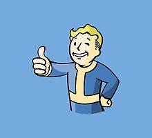 Fallout Vault Boy by GamersUnitedUK