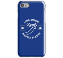 Long Sword - Master Player iPhone Case/Skin