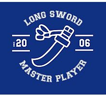 Long Sword - Master Player Photographic Print