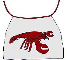 Lobster Bib Photographic Print