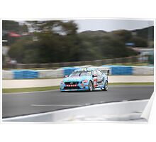 Scott McLaughlin at Phillip Island, November 2015 Poster