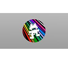 Monstercat | Rainbow Stripes Photographic Print