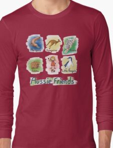 Me and My Aussie Friends - Girl Long Sleeve T-Shirt